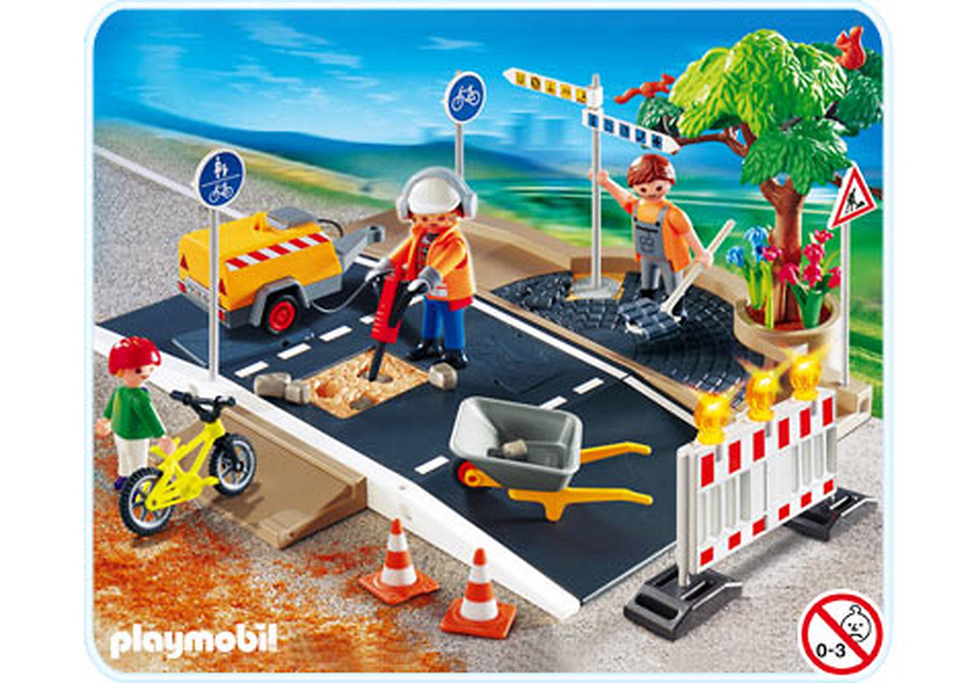 4047-A Große Straßenbaustelle zoom image1