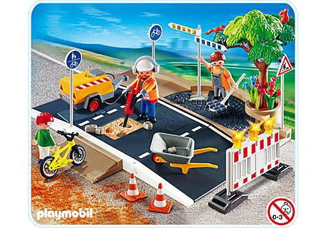 4047-A Ouvriers et entretien de route detail image 1