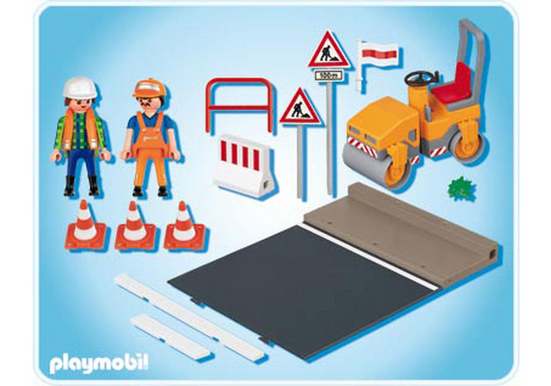 4048-A Straßenwalze mit Asphaltplatte zoom image2
