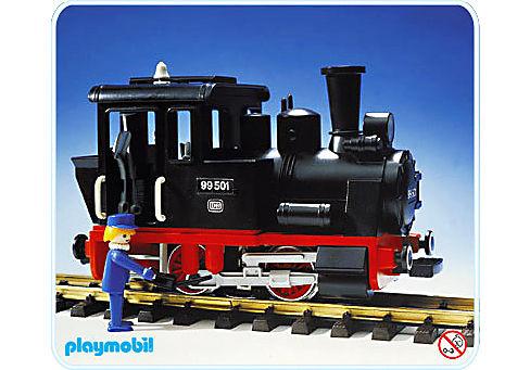 4051-A Dampflok detail image 1
