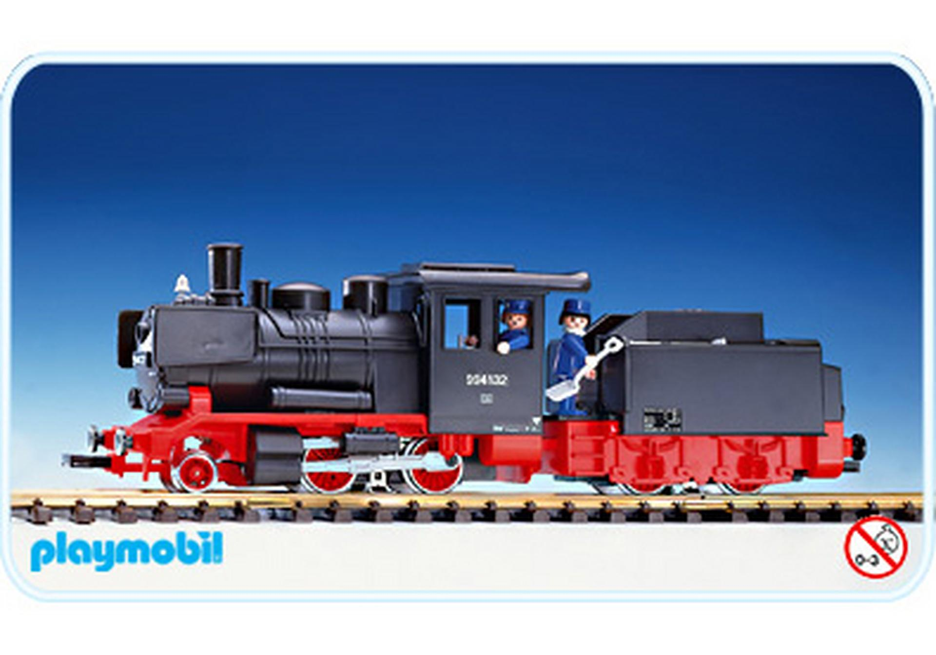 Locomotive tender 4052 a playmobil france for Playmobil buanderie