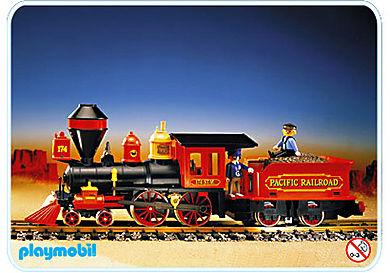 4054-A Locomotive tender pour train Far West