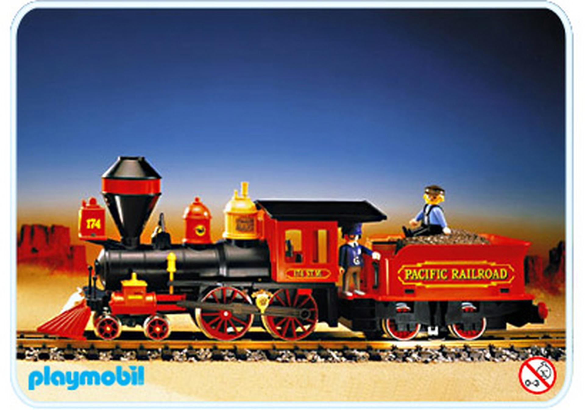 locomotive tender pour train far west 4054 a playmobil. Black Bedroom Furniture Sets. Home Design Ideas