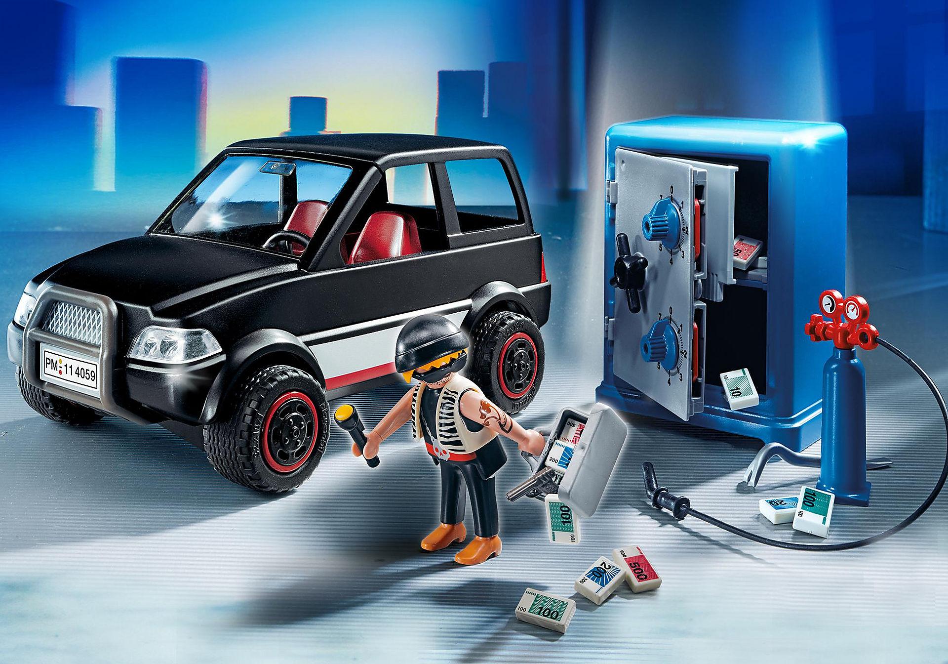 http://media.playmobil.com/i/playmobil/4059_product_detail/Ladrão de Cofres com Carro de Fuga