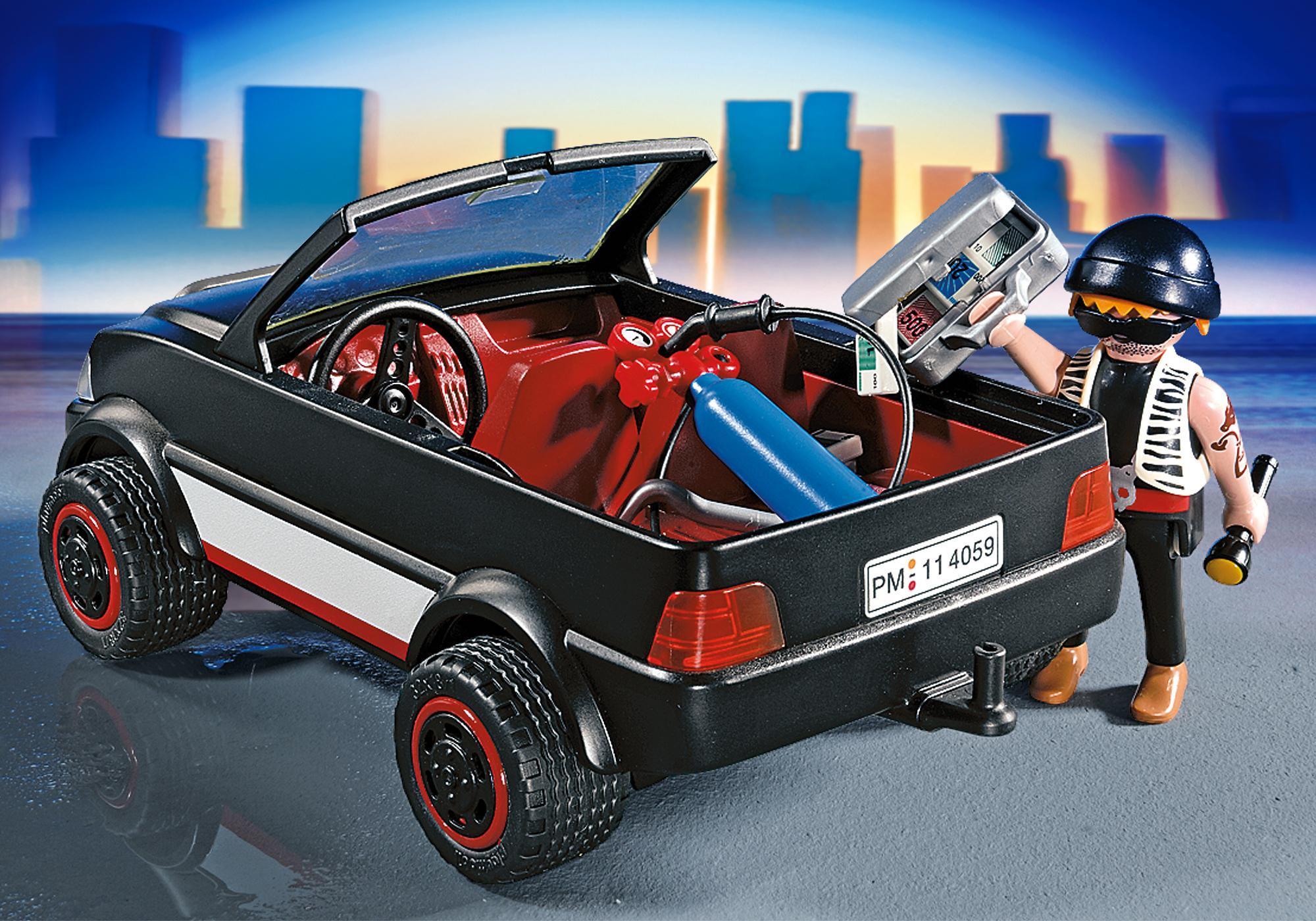 http://media.playmobil.com/i/playmobil/4059_product_extra1/Ladrão de Cofres com Carro de Fuga