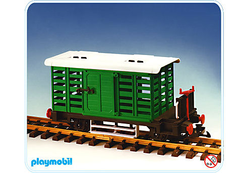 4101-A Wagon à bestiau detail image 1