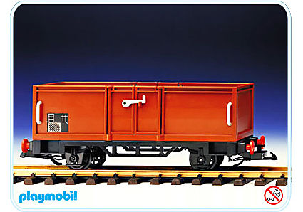 4110-A Wagon bestiaux detail image 1