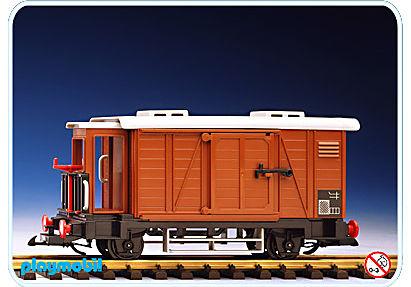 4111-A Geschlossener Güterwagen/Bremserhäuschen detail image 1