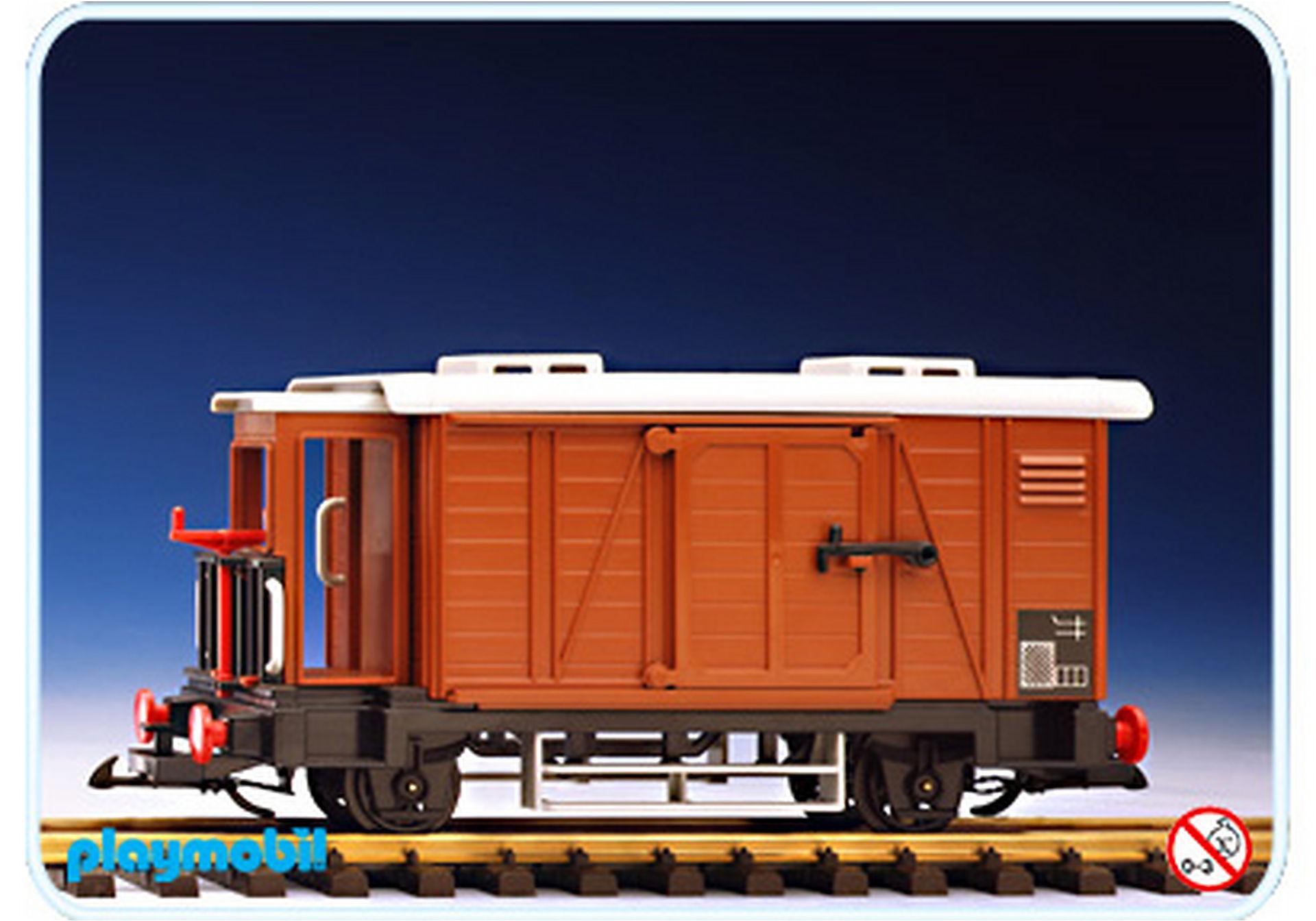 4111-A Geschlossener Güterwagen/Bremserhäuschen zoom image1