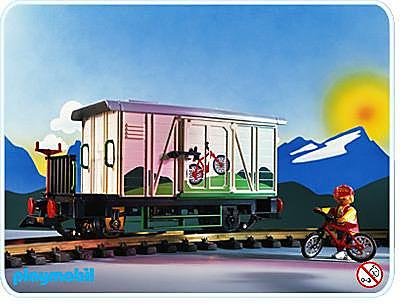 4115-A Wagon marchandises fermé detail image 1