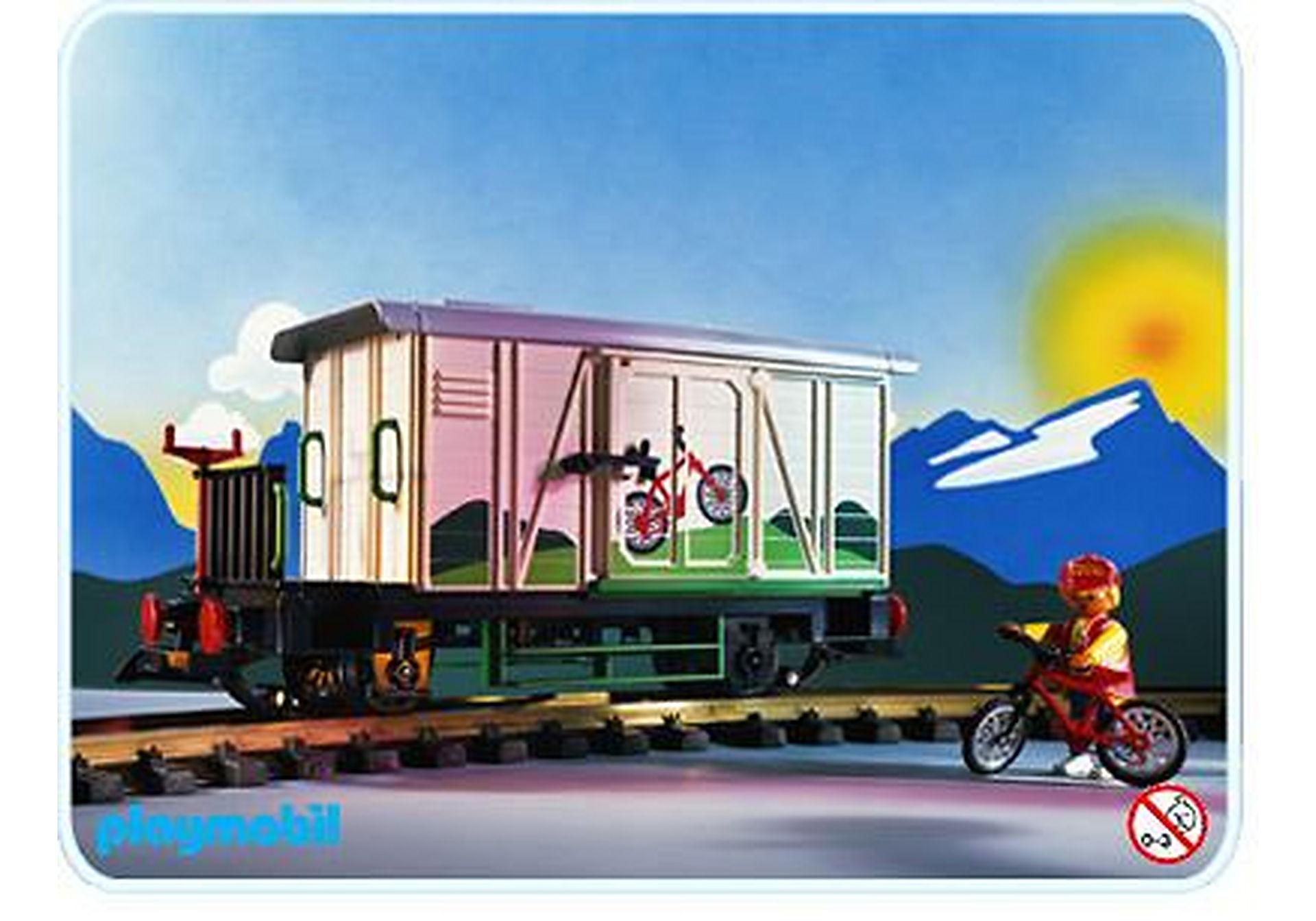 4115-A Wagon marchandises fermé zoom image1