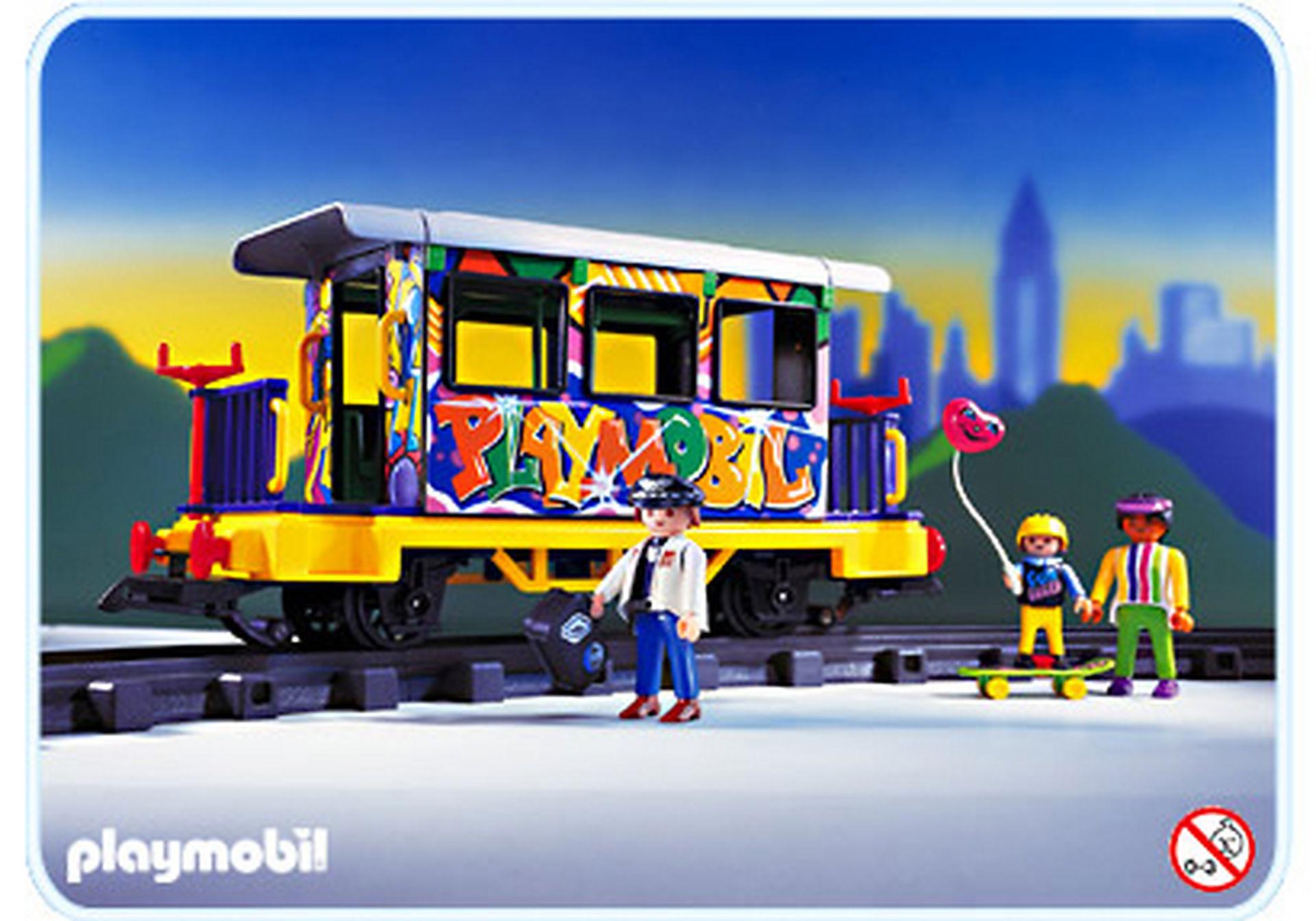 4118-A Graffitiwagen zoom image1