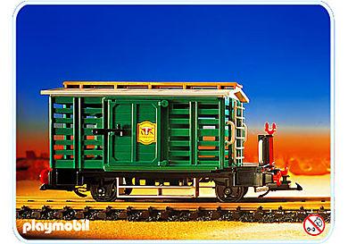 4121-A Wagon voyageurs Far West