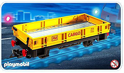 4126-A Niederbordwaggon detail image 1