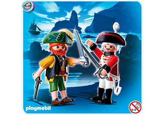 http://media.playmobil.com/i/playmobil/4127-A_product_detail/Duo Pack Pirat und Rotrock