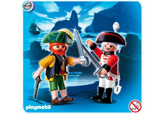 http://media.playmobil.com/i/playmobil/4127-A_product_detail/Duo Pack Pirat und Rotrock