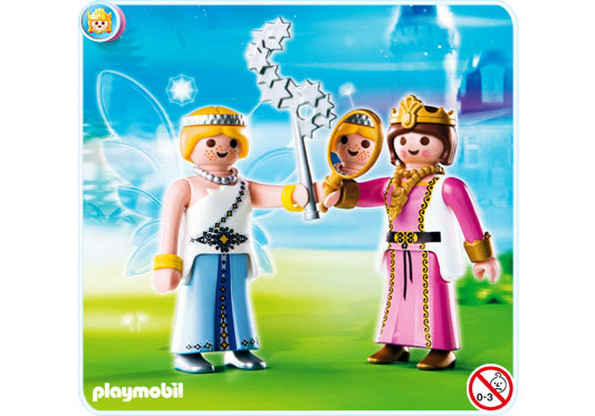 Playmobil duo princesse et f e 4128 a playmobil suisse for Playmobil buanderie