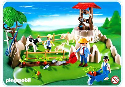http://media.playmobil.com/i/playmobil/4131-A_product_detail/Superset bergers / pâture / animaux