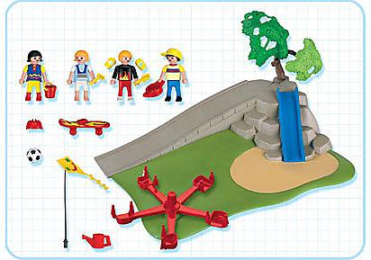 4132-A Superset enfant / aire de jeux detail image 2