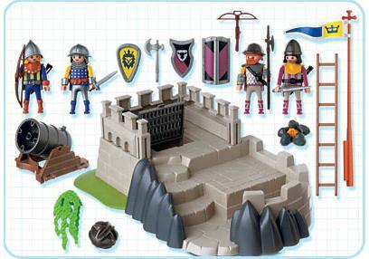 http://media.playmobil.com/i/playmobil/4133-A_product_box_back/Superset chevaliers / tour de défense