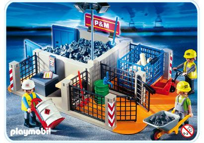 http://media.playmobil.com/i/playmobil/4135-A_product_detail/Superset Aire de stockage chantier