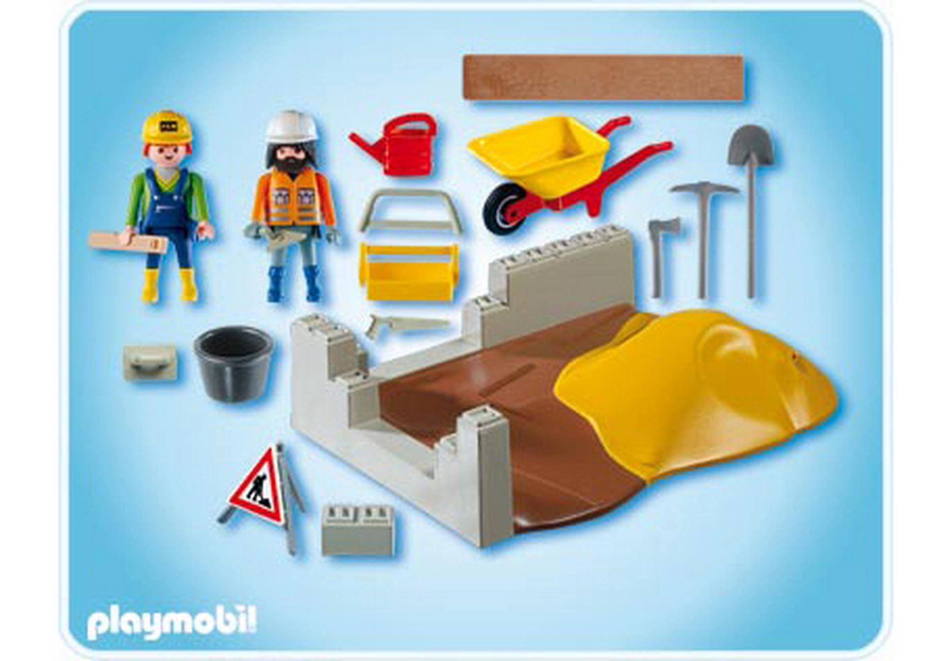 Compactset construction 4138 a playmobil france - Playmobil travaux ...