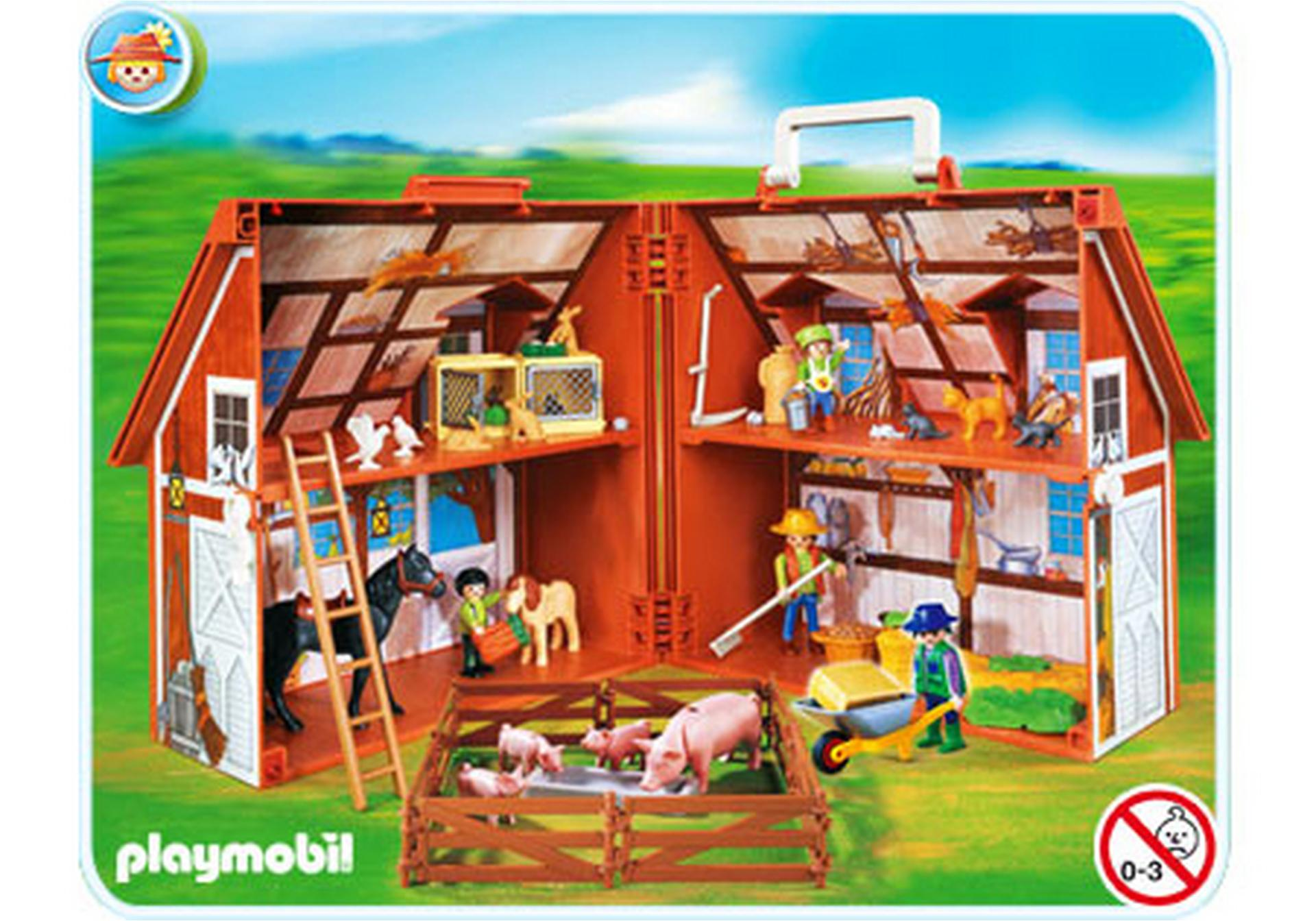 mein mitnehm bauernhof 4142 a playmobil deutschland. Black Bedroom Furniture Sets. Home Design Ideas