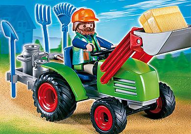 4143 Agriculteur avec tracteur
