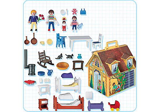 4145-A Maison de famille transportable detail image 2