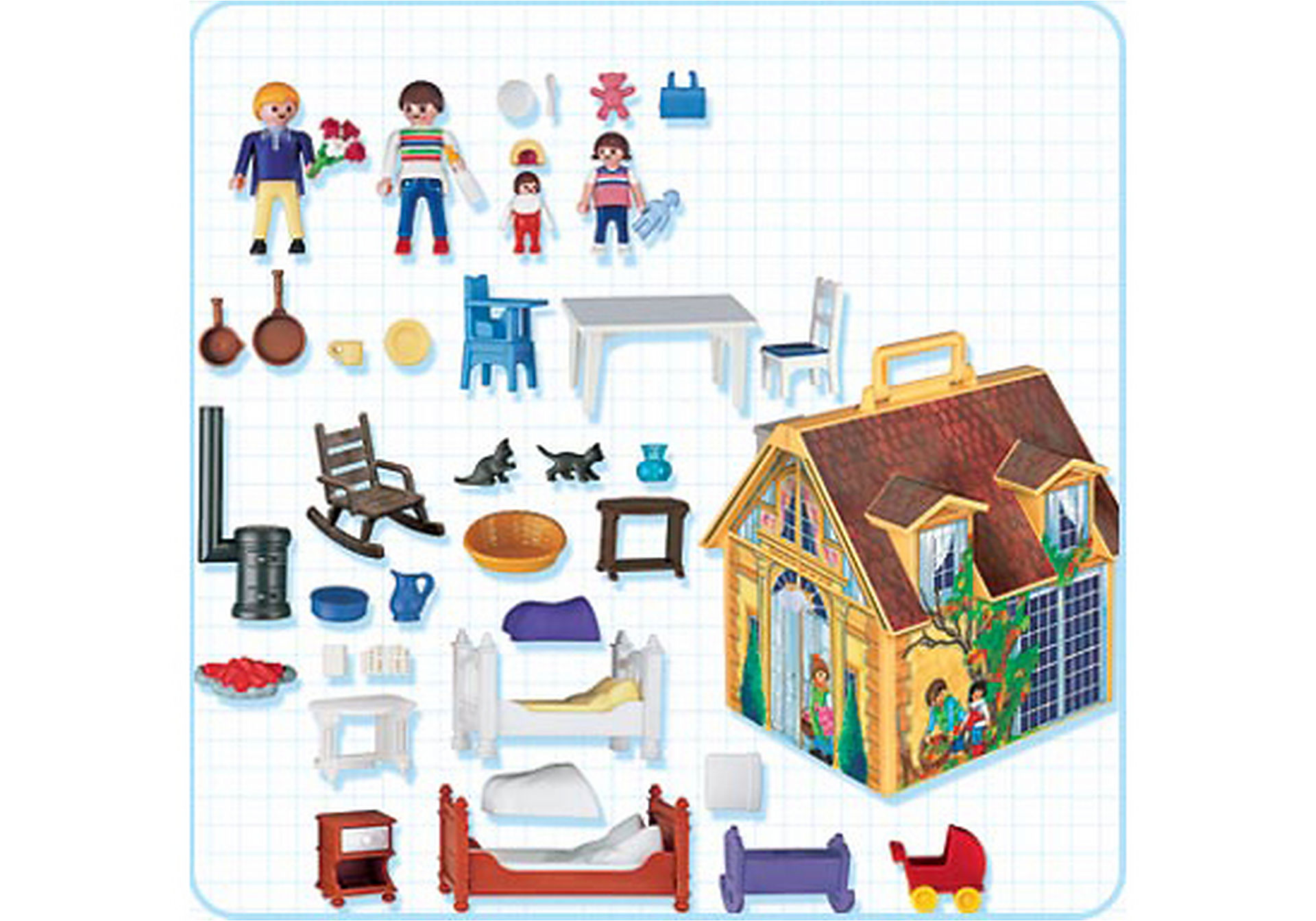 4145-A Maison de famille transportable zoom image2