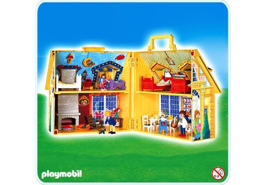 maison de famille transportable 4145 a playmobil france. Black Bedroom Furniture Sets. Home Design Ideas
