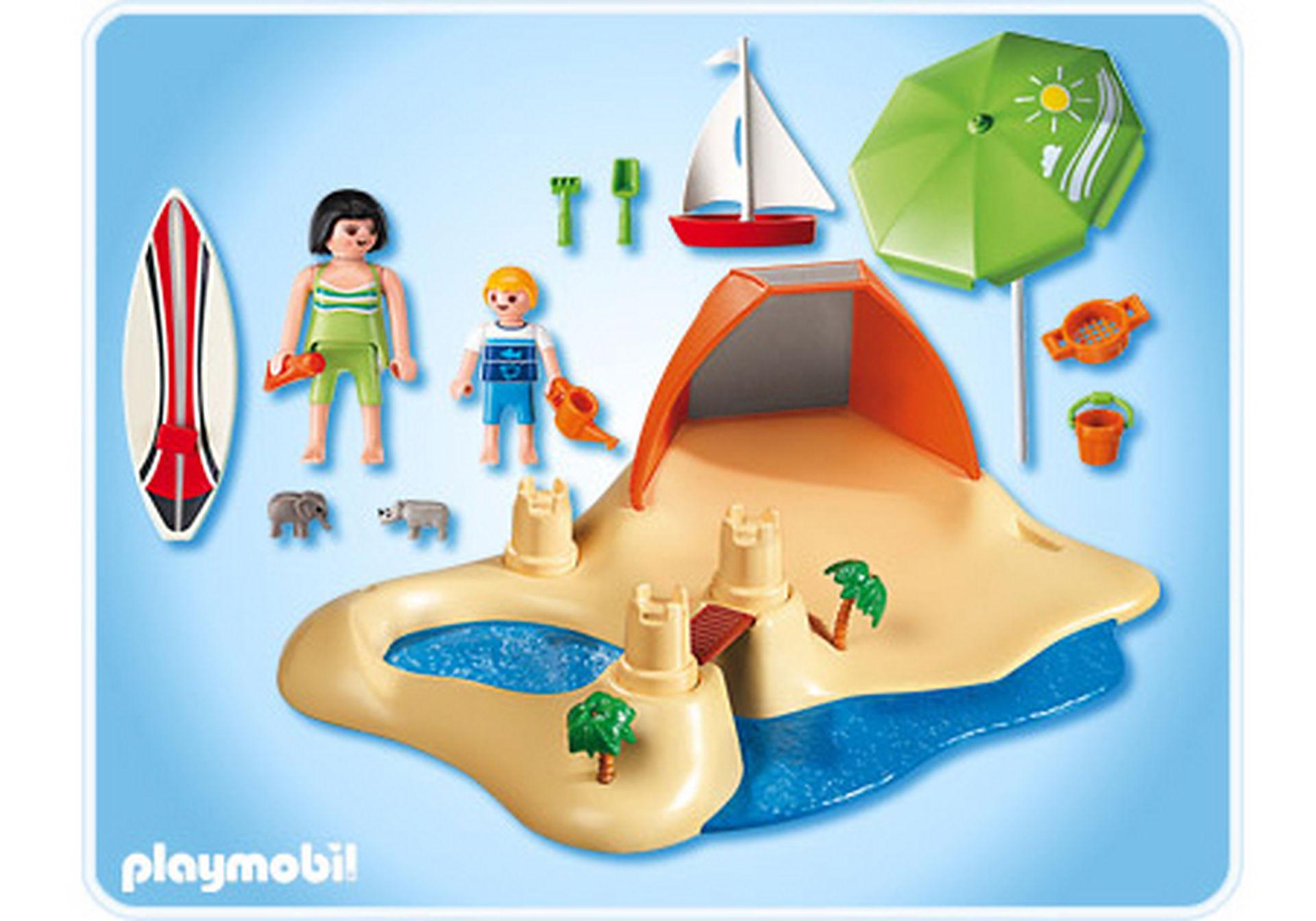 4149-A CompactSet Vacanciers à la plage zoom image2