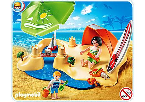 4149-A CompactSet Vacanciers à la plage detail image 1