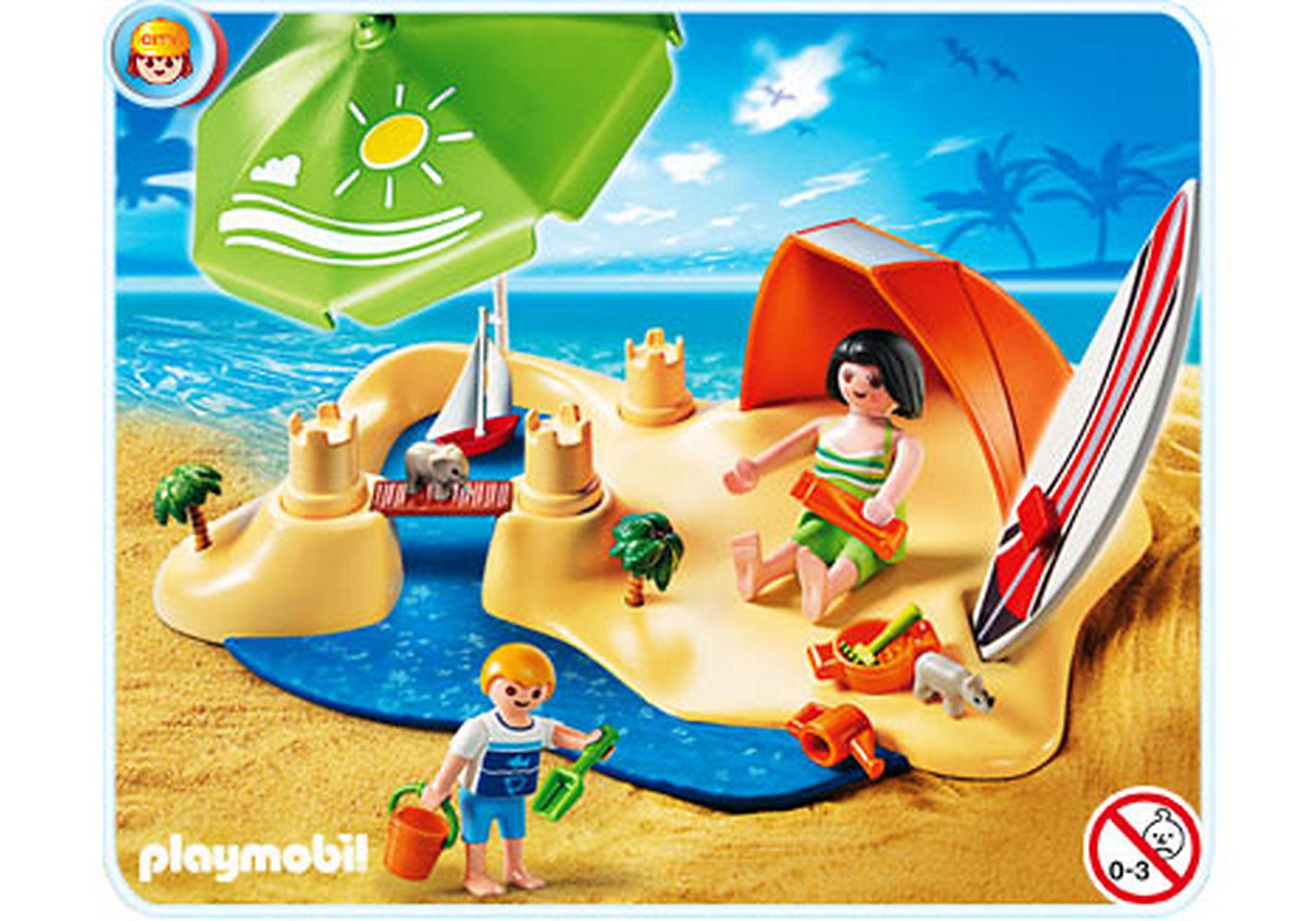 4149-A CompactSet Vacanciers à la plage zoom image1