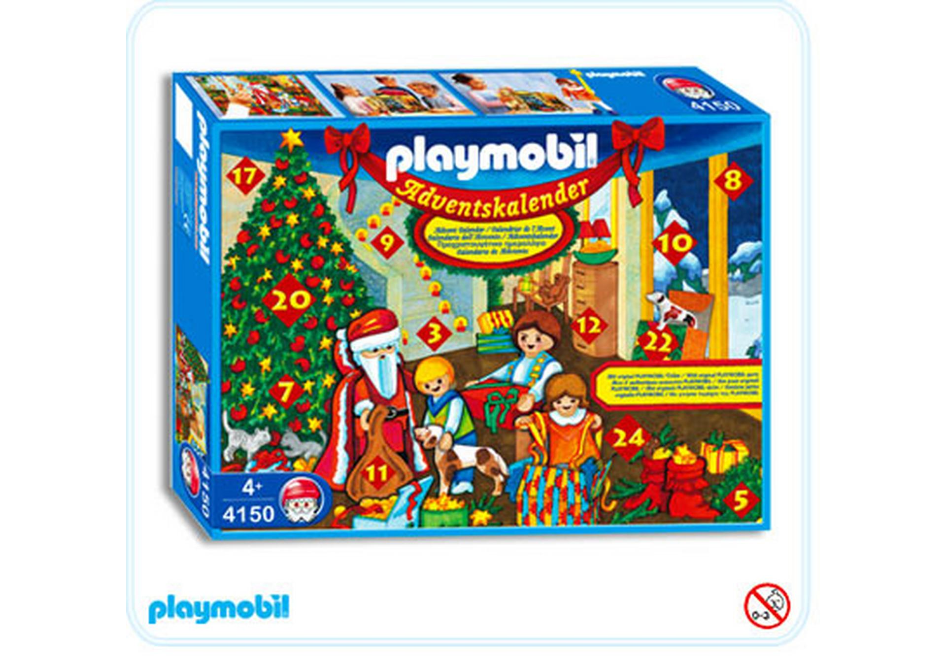 adventskalender nikolausabend 4150 a playmobil. Black Bedroom Furniture Sets. Home Design Ideas