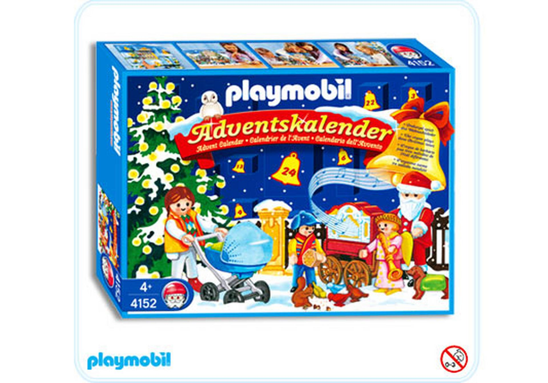 adventskalender weihnachten im park 4152 a playmobil. Black Bedroom Furniture Sets. Home Design Ideas