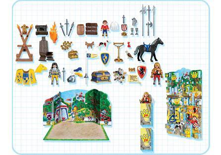 "http://media.playmobil.com/i/playmobil/4153-A_product_box_back/Adventskalender ""Königliches Ritterturnier"""
