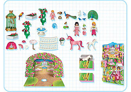 "http://media.playmobil.com/i/playmobil/4154-A_product_box_back/Adventskalender ""Prinzessinnenbesuch beim Einhorn"""