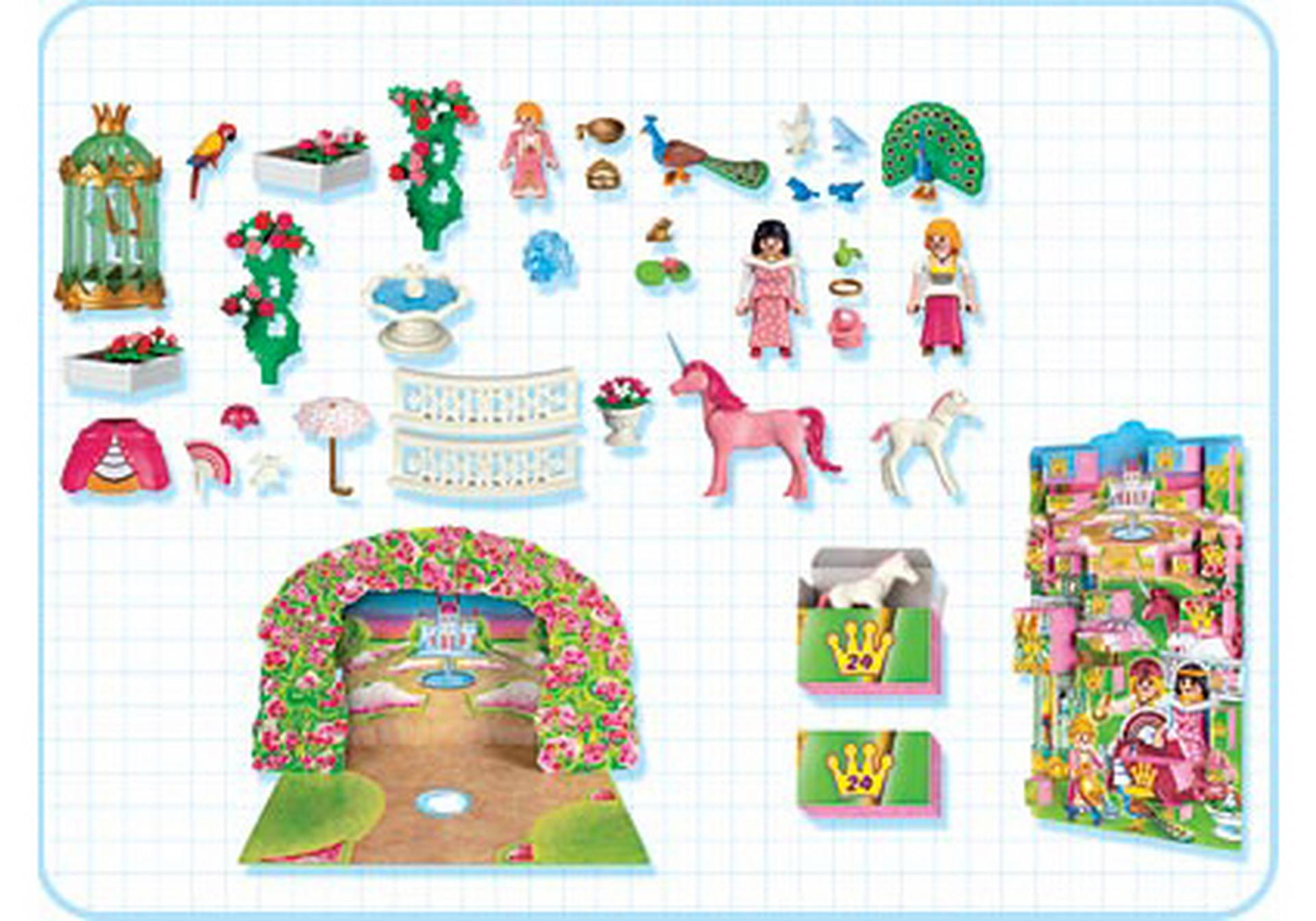 calendrier de l avent princesse 4154 a playmobil france. Black Bedroom Furniture Sets. Home Design Ideas