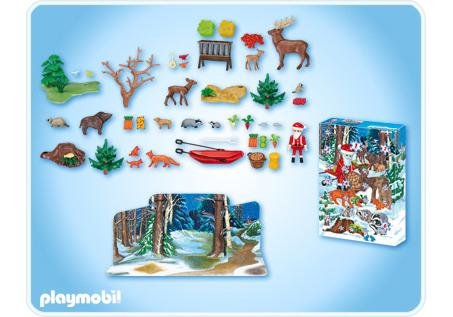 http://media.playmobil.com/i/playmobil/4155-A_product_box_back/Calendrier de l'Avent Noël en forêt