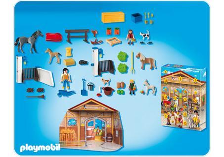 calendrier de l avent centre questre 4159 a playmobil. Black Bedroom Furniture Sets. Home Design Ideas