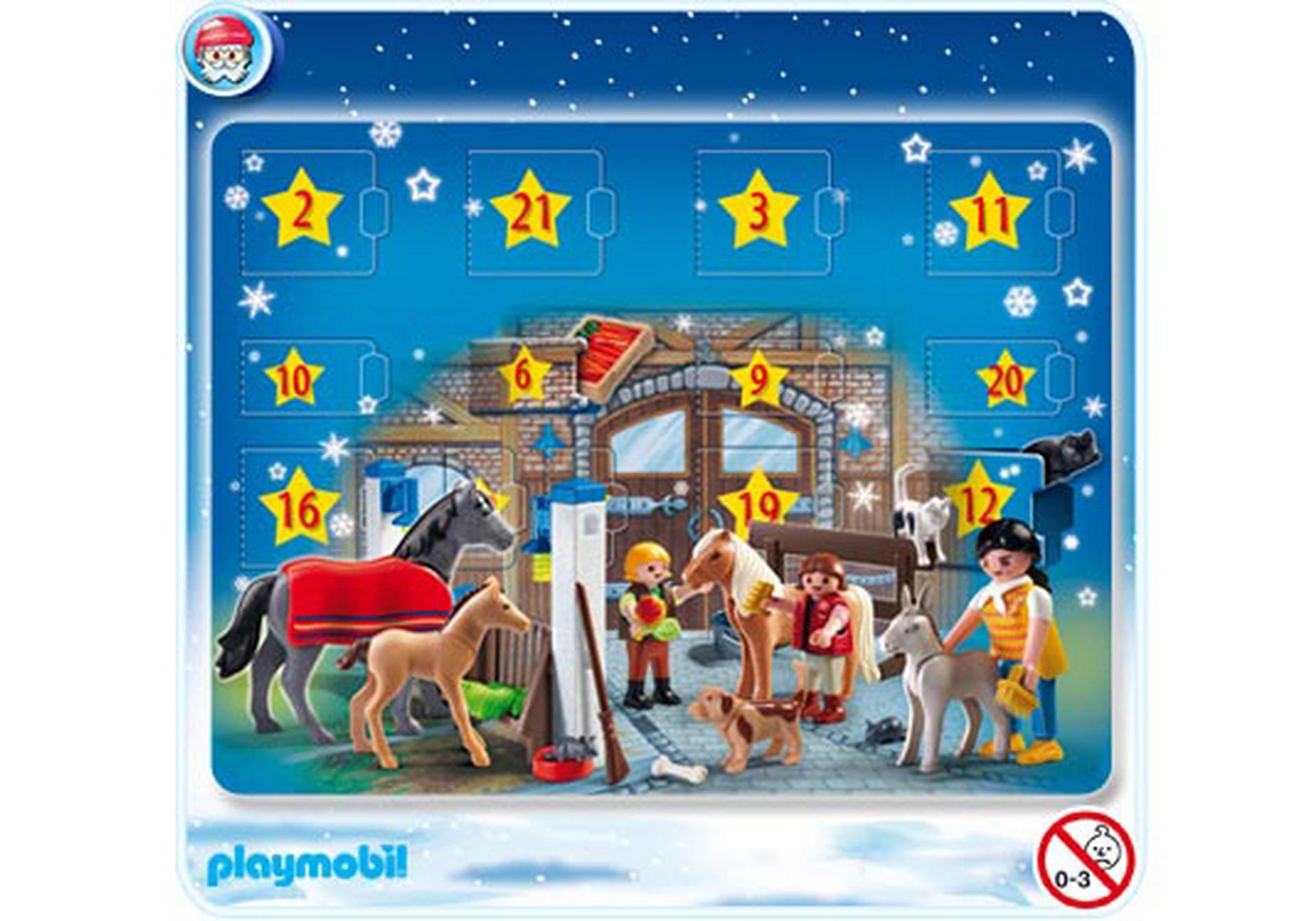 Adventskalender reiterhof 4159 a playmobil deutschland - Pferde playmobil ...