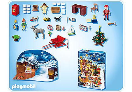 4161-A Adventskalender Weihnachts-Postamt detail image 2
