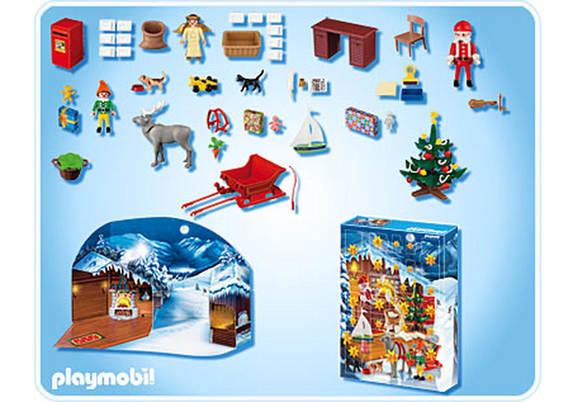 calendrier de l 39 avent atelier du p re no l 4161 a playmobil france. Black Bedroom Furniture Sets. Home Design Ideas