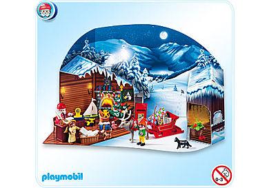 4161-A Adventskalender Weihnachts-Postamt