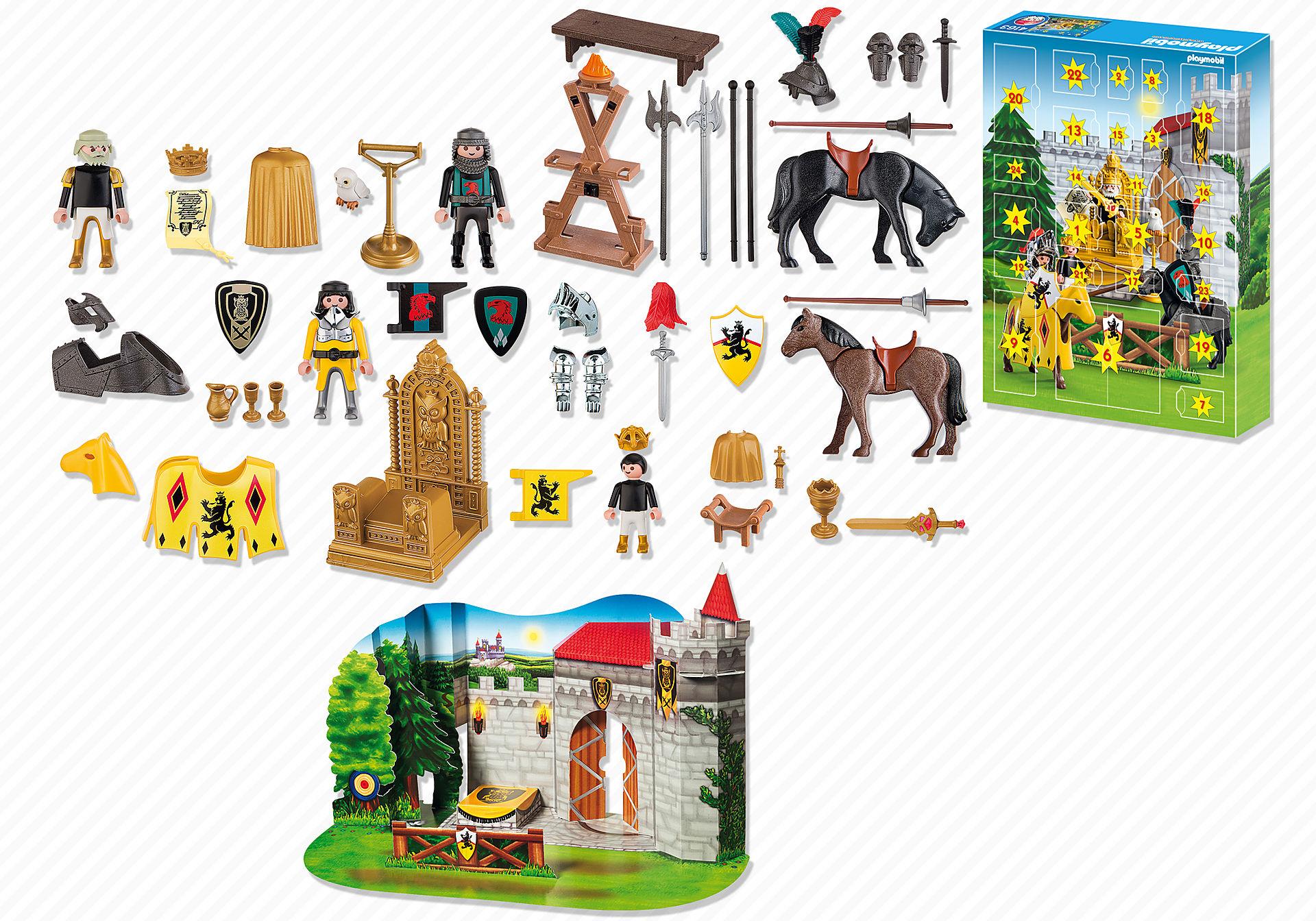 4163-A Calendrier de l'Avent Tournoi impérial des chevaliers zoom image2