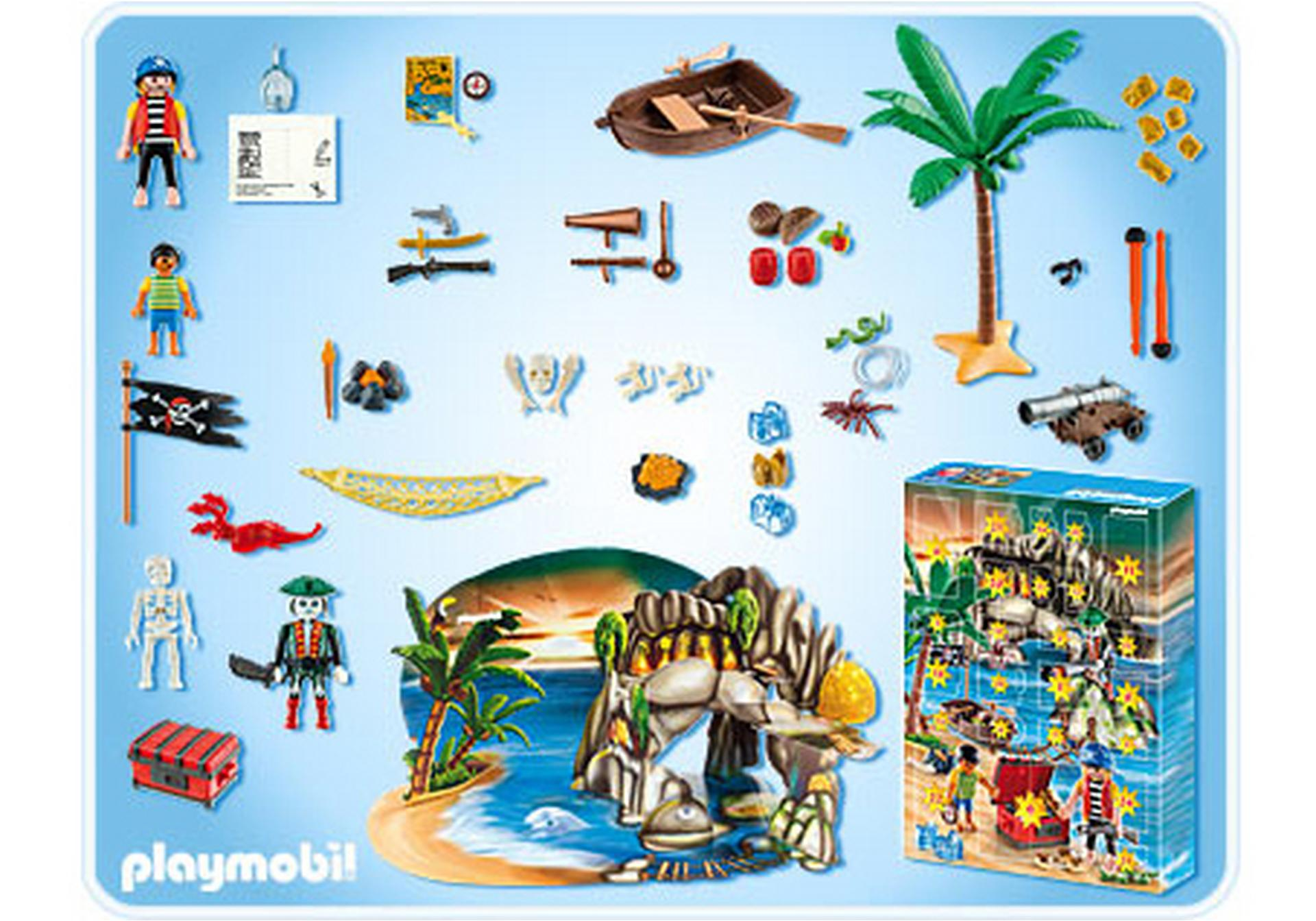 advent calendar pirates treasure cove 4164 a playmobil. Black Bedroom Furniture Sets. Home Design Ideas