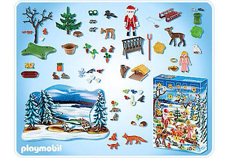 4166-A Adventskalender Weihnacht der Waldtiere detail image 2