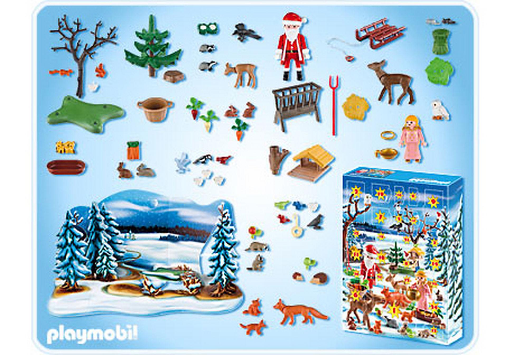 4166-A Adventskalender Weihnacht der Waldtiere zoom image2