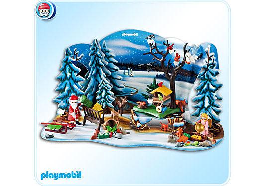 4166-A Adventskalender Weihnacht der Waldtiere detail image 1